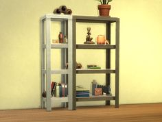 Mod The Sims - RAW Shelves