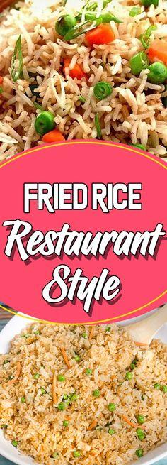 Fried Rice Restaurant Style Via #yummymommiesnet #salad salad recipes #easyrecipes easy recipes #recipeideas recipe ideas #whole30 whole 30 #whole30recipes whole 30 recipes #keto keto