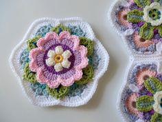 Watch The Video Splendid Crochet a Puff Flower Ideas. Phenomenal Crochet a Puff Flower Ideas. Crochet Art, Love Crochet, Crochet Motif, Beautiful Crochet, Crochet Doilies, Crochet Flowers, Crochet Stitches, Easy Crochet, Crochet Blocks