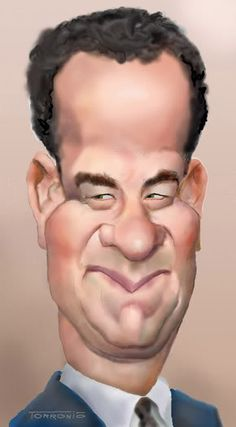 Caricaturas by Daniel Alho / Tom Hanks