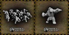 One more remastered orc set, miniatures may be used with magnets now, as arms and torsos have appropriate holes for mounting 3x1mm magnets, which makes converting them really easy. ORC FOOTBALL GANG https://puppetswar.eu/product.php?id_product=353 Please remember that all orc faction is available with 10% discount till the end of this month.