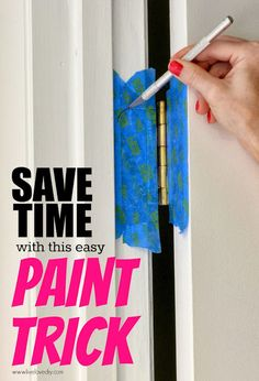 10 Paint Secrets: what you never knew about paint (Like how to paint doors and NOT the hinges!)