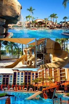 Family travel is easy at Sheraton Vistana Orlando, with pools that'll keep your little ones entertained all day!