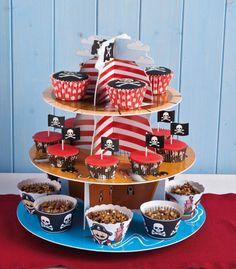piratas cupcakes