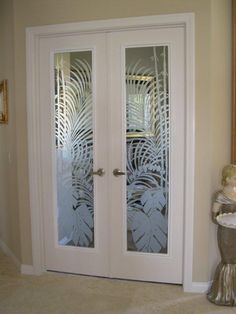 Beau Interior Doors With Circle Etched And Grooved In The Glass.  Http://glassdoorstampa.com/interior Doors Tampa Pantry Office Frencu2026 |  Interior Glass Doors ...