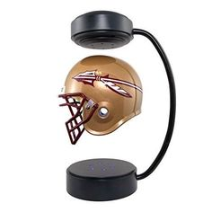 Florida State Seminoles NCAA Hover Helmet - Collectible Levitating Football Helmet with Electromagnetic Stand