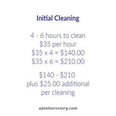 How to MAKE MONEY from every house cleaning job by charging the right cleaning rate with this step by step house cleaning pricing guide.