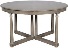 """Vanguard Furniture: 8708T Callas Dining Table 54""""D closed with 2 18"""" extensions = 90""""w"""