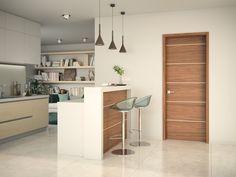 Dveře Sapeli - ALEGRO dveře do kuchyně Decor, Table, Room Divider, Furniture, Home Decor, Room
