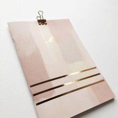 Monogrammed Luxe Notebook