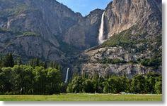 Yosemite Falls (upper and lower), Yosemite National Park, California