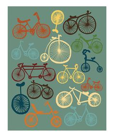 Parada Creations: Bicycle Print