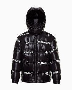 Mayconne Jacket Moncler, Black 7, Fashion Advice, Winter Jackets, Latest Fashion, Hoods, Collaboration, Freedom, Label