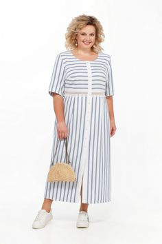 Dressy Dresses, Cotton Dresses, Sleeves Designs For Dresses, Girl Fashion, Fashion Outfits, Sweet Dress, Plus Size Outfits, Plus Size Fashion, Designer Dresses