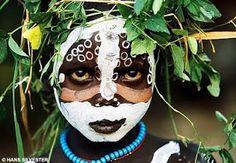 African face art!