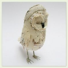 Abigail Brown: Cream owl