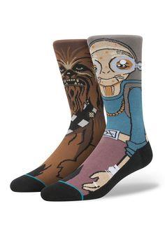 Star Wars Maz Kanata Chewbacca Socks