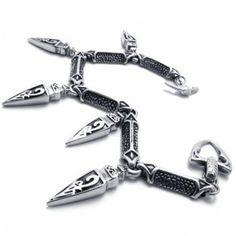 9.0 inch Titanium Bracelet 20800