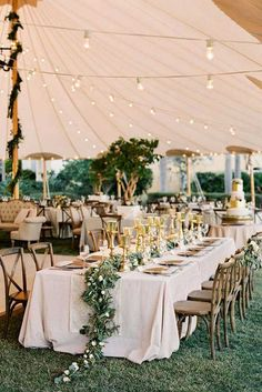 Wonderful Wedding Tent Ideas For A Stunning Wedding ❤ See more: http://www.weddingforward.com/wedding-tent/ #weddings