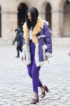 Fashion Week in Paris: streetstyle. Part 2 | The magazine Harper's Bazaar