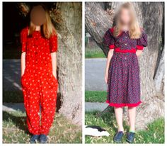 mother punishes bullying daughter with ugly clothes for school-fashionably geek