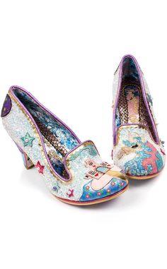 2703956616c Irregular Choice White Little Misty Unicorn Shoes