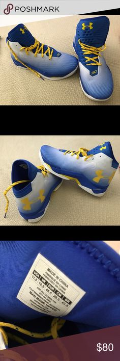 Steph Curry Sneakers 11.5 men's sneakers. My son wore twice and out grew them. Under Armour Shoes Sneakers