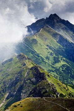 Tatra Mountains, border between Slovakia and Poland