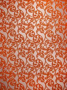 Darvish Orange - www.BeautifulFabric.com - upholstery/drapery fabric - decorator/designer fabric