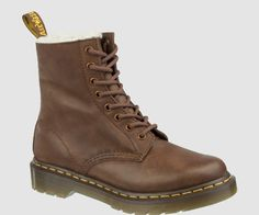My feet need these. SERENA brown leather dr martens