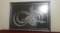 Allah, Islamic, Cross Stitch, Frame, Decor, Picture Frame, Punto De Cruz, Decoration, Seed Stitch