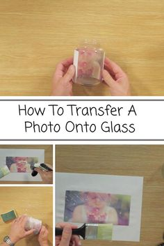 How To Transfer A Photo Onto Glass - Once completed the possibilities are endless. You could display them on mantel pieces. use them as wall art or even place settings and keepsakes. To learn more about this project and to get the instructions to do it Transfer Photo To Glass, Mod Podge Photo Transfer, Wood Transfer, Canvas Photo Transfer, Heat Transfer, Glass Block Crafts, Glass Blocks, Wood Blocks, Photo Craft