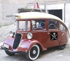 1935 Singer Pirate Lorry