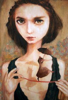El realismo mágico en las pinturas de Nom Kinnear King - Cultura Colectiva