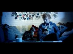 Ed Sheeran. Thank you for creating amazing music paired with hilarious music videos.