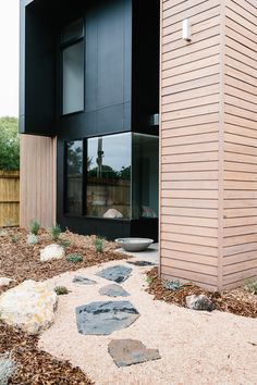 black plus wood cladding house exterior Wood Cladding Exterior, Black Cladding, Wood Siding, Architecture Details, Interior Architecture, Barn Kitchen, Residential Architecture, Black House, Beautiful Homes
