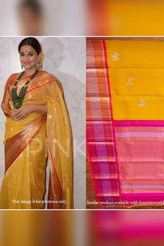 Details From our exclusive collection, we are offering you the Kanjeewaram saree, which is a...