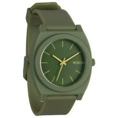 33758634d044 Nixon Time Teller P Watch Matte Army One Size -- Continue to the product at  the image link.