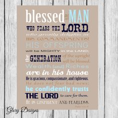 Bible Verse, Father's Day, Scripture art, Psalm Psalms Print, Gift for a… Fathers Day Bible Verse, Funny Fathers Day Card, Fathers Day Quotes, First Fathers Day, Fathers Day Crafts, Happy Fathers Day, Father's Day Scripture, Scripture Quotes, Scriptures