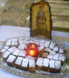 Greek Desserts, Greek Recipes, The Kitchen Food Network, Pureed Food Recipes, Orthodox Icons, Food Network Recipes, Holi, Food And Drink, Pure Products