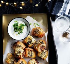Alice Storey recipe for lamb and roast carrot sausage rolls with video.