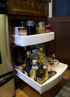 Converting Kitchen Shelves Into Drawers