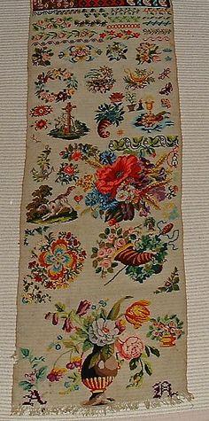 19th Century German Or Austrian Sampler (1) eBay ~ ONE OF THE MOST BEAUTIFUL BIEDERMEIER SAMPLERS I HAVE EVER SEEN