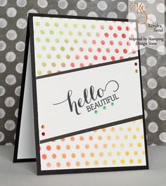 Luv 2 Scrap n' Make Cards: Hello Beautiful with IBS