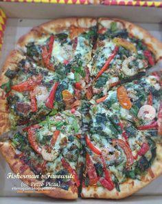 Cuisine Paradise | Singapore Food Blog | Recipes, Reviews And Travel: Pezzo Launches Ho Ho Hola Hawaiian Pizza + Win A Year Supply Of Pizza - Fisherman Favourite from Pezzo