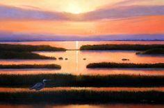 """""""Wetlands"""", oil on canvas 24""""x36"""", by Katarzyna Lappin, www.katarzynalappin.com"""