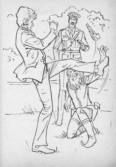 doctor who coloring pages   ... Reflections on '70s pop culture: Colouring Book Theatre: Doctor Who