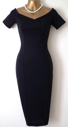Pinup Fashion: Black Mad Men style dress #fashiondresses#dresses#borntowear