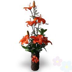 Arreglo con lirios Tonan - flores - amor y amistad