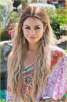 Vanessa Hudgens Jewels Up for Day Two of Coachella 2014! | vanessa hudgens hangs loose at coachella 201402 - Photo